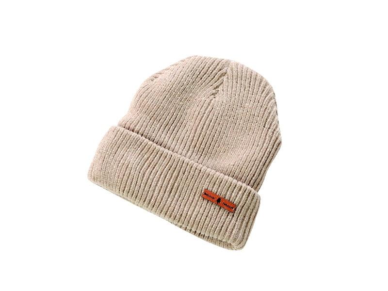 NSニットワッチ帽子 ベージュ KO805