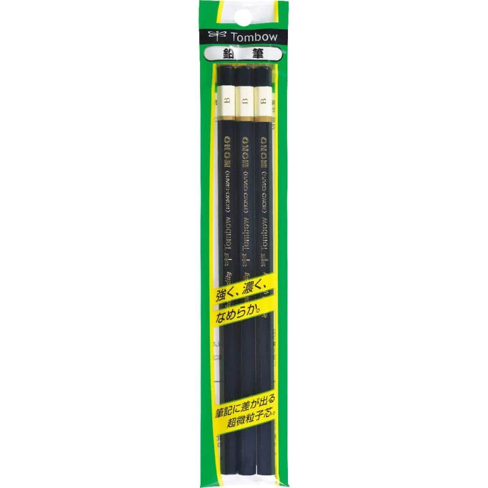 トンボ鉛筆 鉛筆 MONO 3本パック 各種