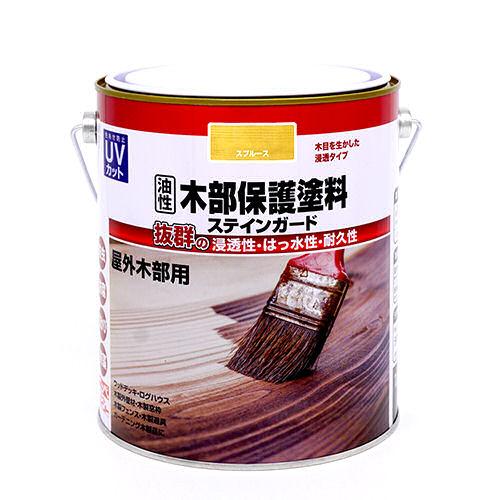 油性木部保護塗料ステインガード 1.6L 各種