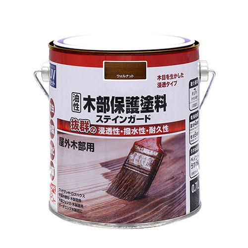 油性木部保護塗料ステインガード 0.7L 各種