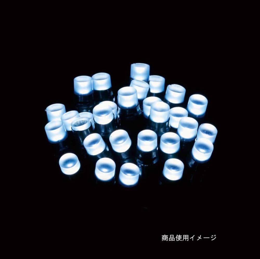 【アウトレット】LEDストレートライト100球ホワイト球Gコード