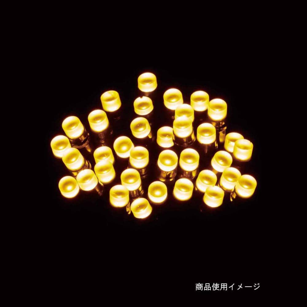【アウトレット】LEDストレートライト100球ゴールド球Gコード