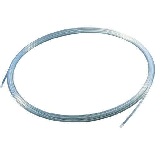 TRUSCO フッ素樹脂チューブ 内径4mmX外径6mm 長さ20m_