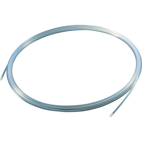 TRUSCO フッ素樹脂チューブ 内径4mmX外径6mm 長さ10m_