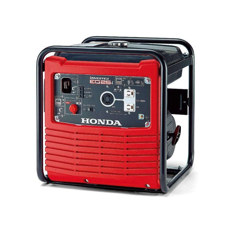 HONDA オープン型インバーター発電機 2.5kVA(交流専用)_