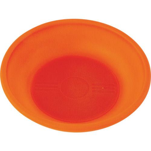 TRUSCO 樹脂マグネットトレー オレンジ_