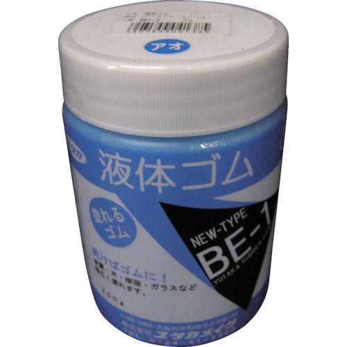 ユタカ ゴム 液体ゴム ビンタイプ 250g入り 青_