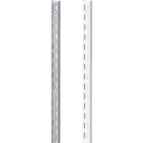 スガツネ工業 ウォールシステム 棚柱1220mm 白(130 021 759)_