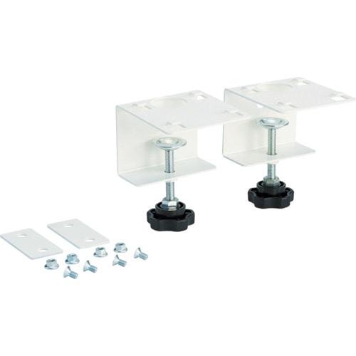TRUSCO 卓上用クリアポケットスタンド用テーブル固定金具_