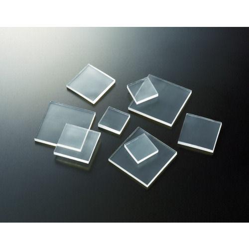 TRUSCO 耐震・防振・防音Gマット(3mm厚) 40mm角 4個 透明_