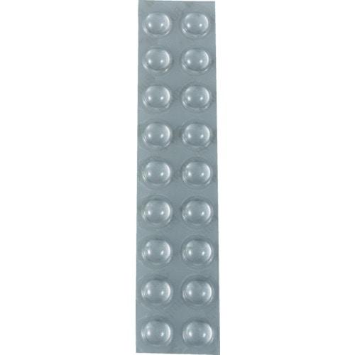 3M しっかりつくクッションゴム 9.5mm径X3.8mm 丸形 (18個入)_