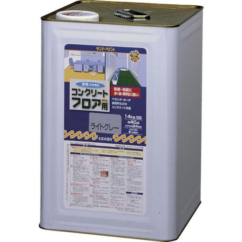 サンデーペイント 水性コンクリートフロア用 14kg 若竹色_