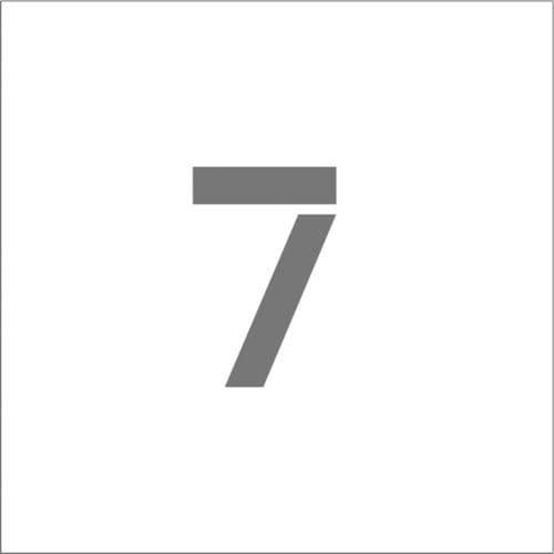 IM ステンシル マグネット 7 文字サイズ150×95mm_