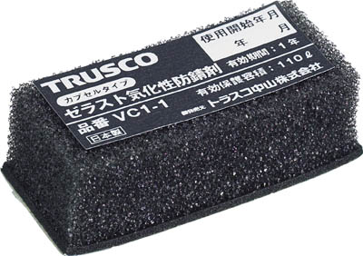 TRUSCO ゼラスト防錆剤 幅25X長さ50X厚み17_