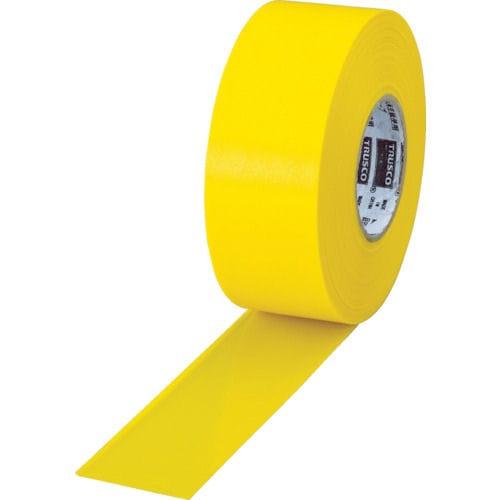 TRUSCO 目印テープ 30mmX50m イエロー_
