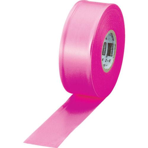 TRUSCO 目印テープ 30mmX50m ピンク_