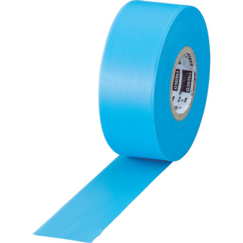 TRUSCO 目印テープ 30mmX50m ブルー_