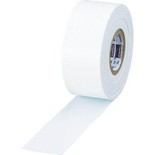 TRUSCO 目印テープ 30mmX50m ホワイト_