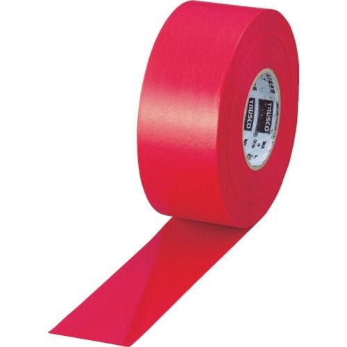 TRUSCO 目印テープ 30mmX50m レッド_