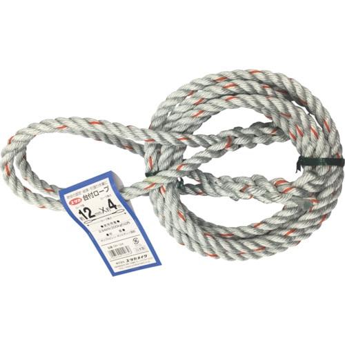 ユタカ 台付ロープ 12mm×4m_
