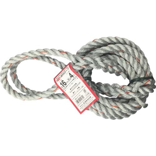ユタカ 台付ロープ 16mm×4m_