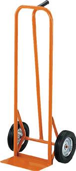 TRUSCO スチールパイプ製二輪運搬車 H1060 すくい板150X306_