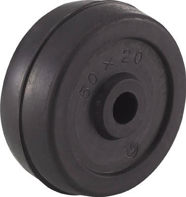TRUSCO 二輪運搬車用車輪 Φ50ゴム車輪 4011用補助車輪_