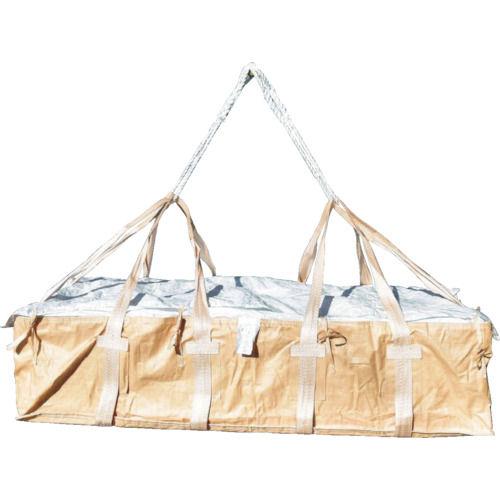 アサヒ コンテナバッグ角型二重バッグ アスベストボード廃棄運搬用_