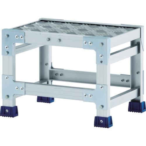 アルインコ 作業台(天板縞板タイプ)1段_