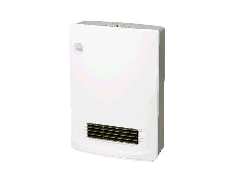 山善 人体感知センサー付 消臭セラミックファンヒーター KDSFーVB0818(W) ホワイト