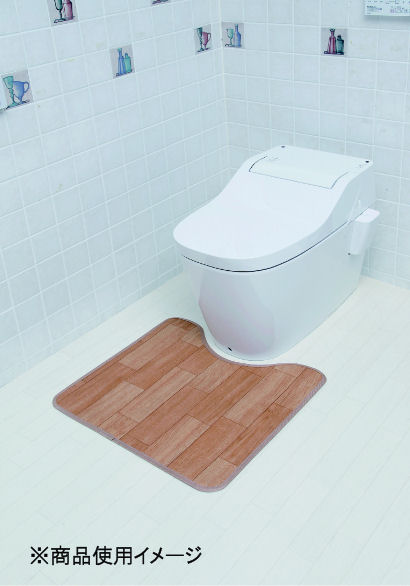 拭けるトイレマット 55×60cm 各種