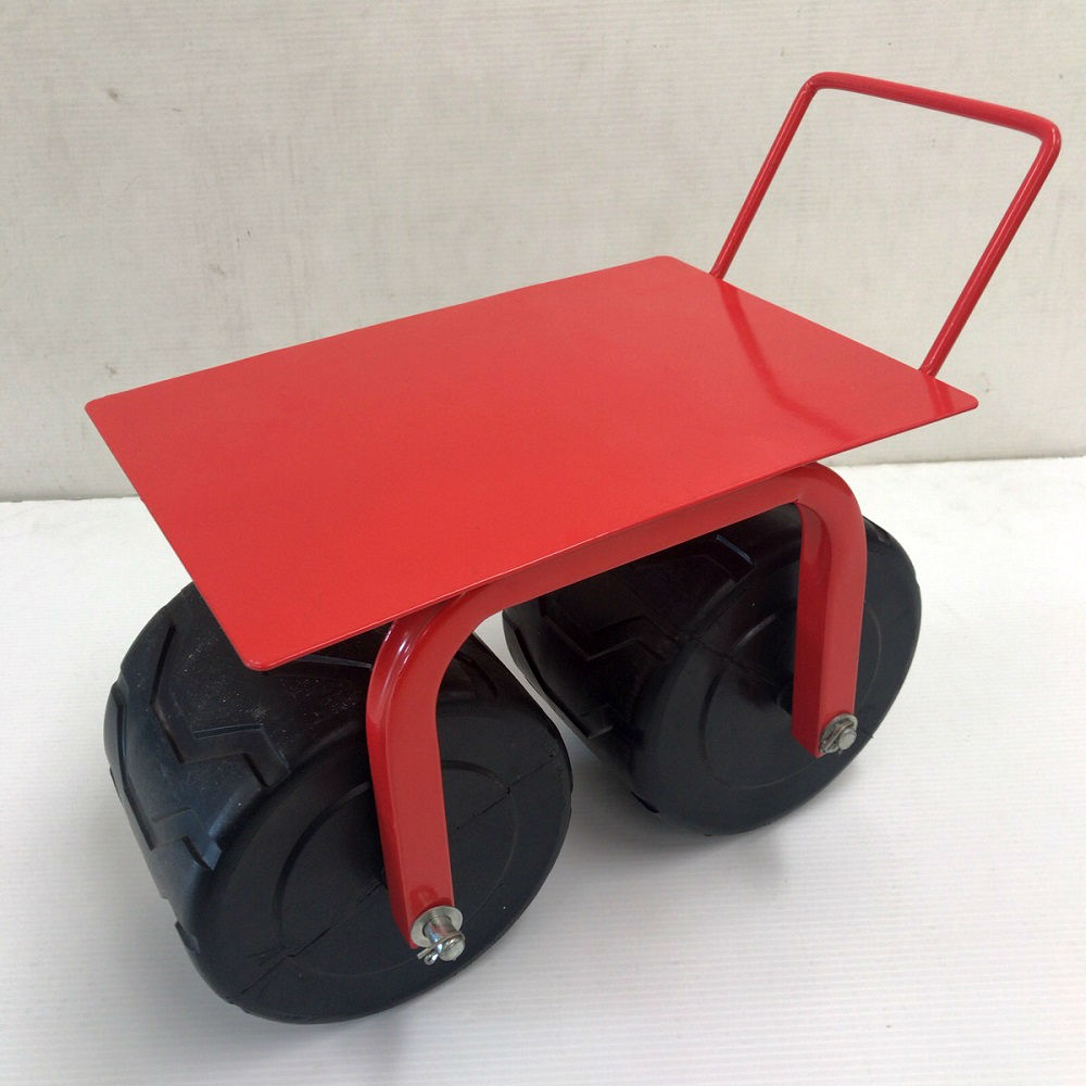 幅広タイヤの農用腰掛車 KTC4500D