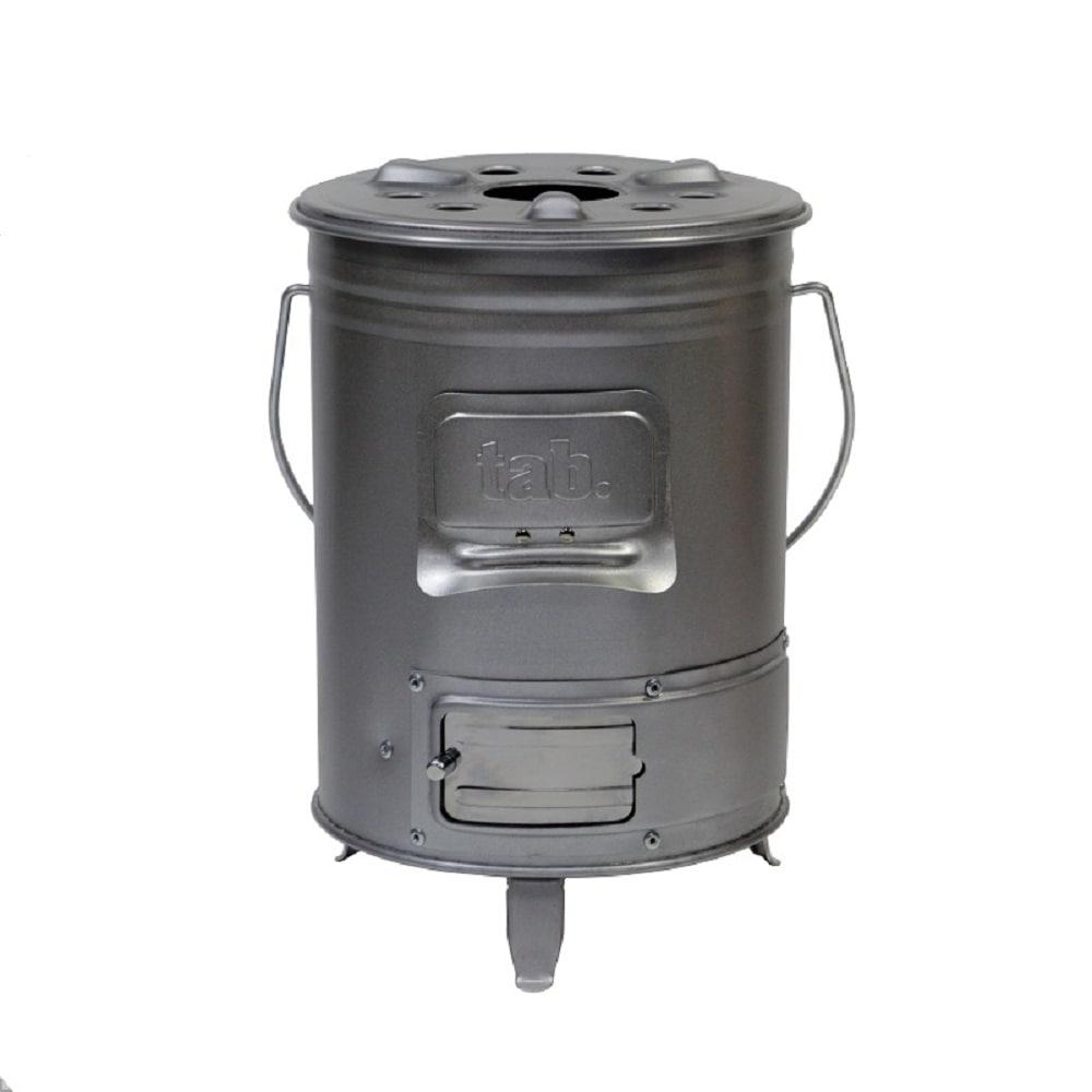 マルチに使える 缶ストーブ