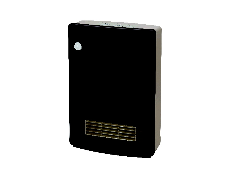山善 人体感知センサー付 消臭セラミックファンヒーター KDSF VB0818(BR) ブラウン