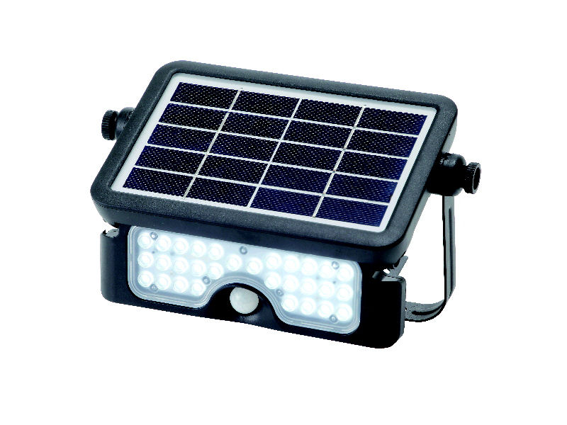 ソーラーセンサーライト 500ルーメン 壁掛け&置き型