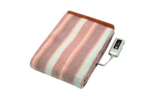 洗える電気掛敷毛布タイマー付 HTT-75A