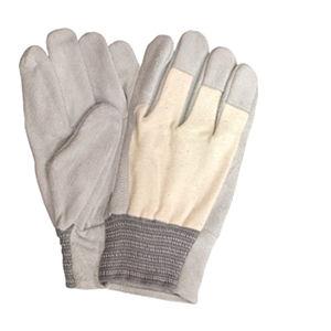 牛床革甲メリヤス手袋 3双組 フリーサイズ