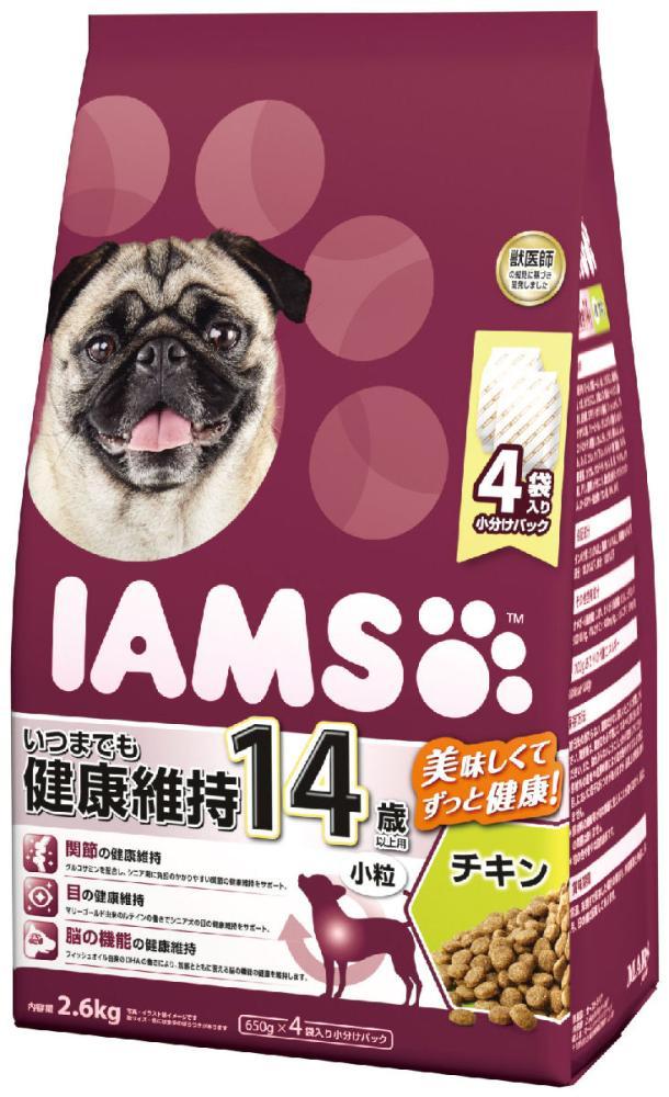 マース アイムス 14歳以上用 いつまでも健康維持 チキン 小粒 2.6kg