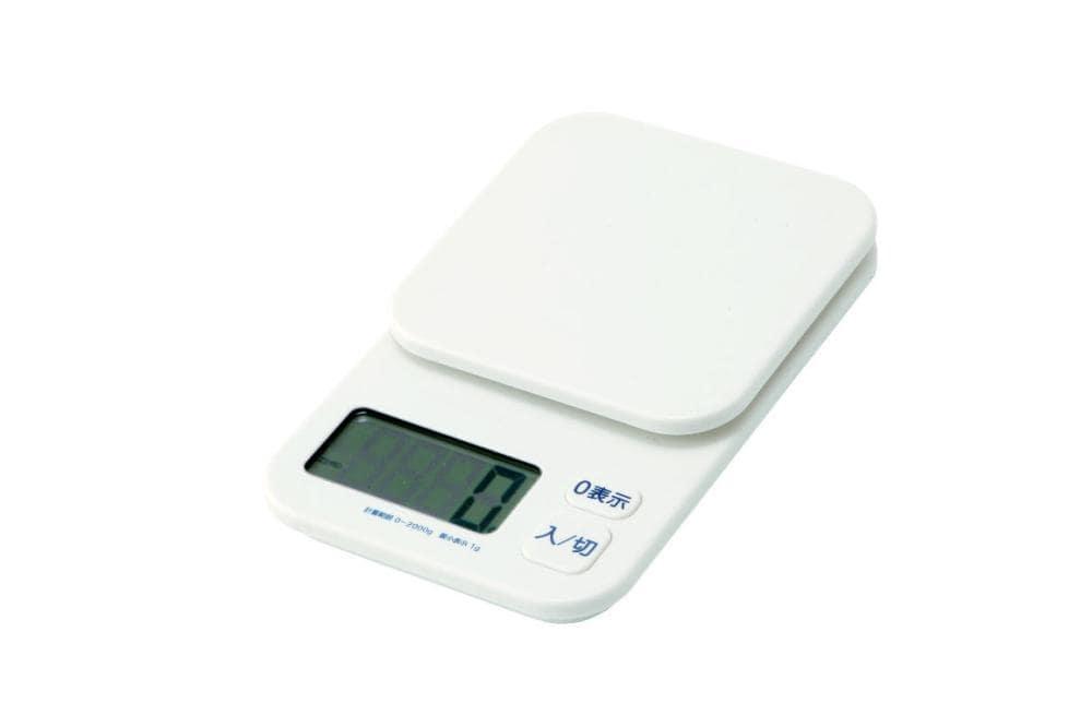 デジタルスケール 2kg 表示単位0.1g