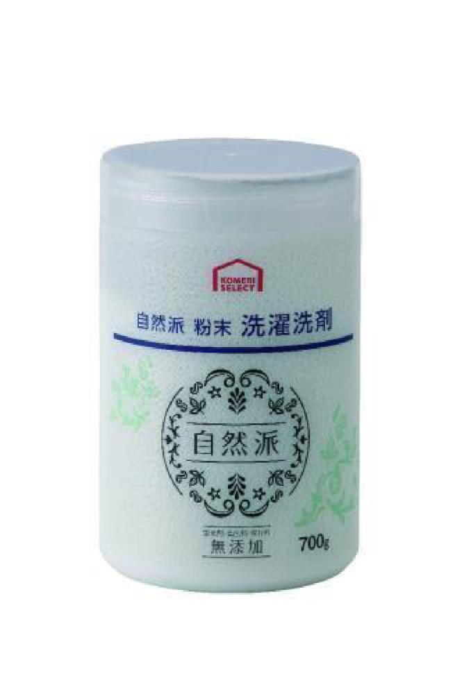 コメリセレクト 自然派 粉末洗剤 700g