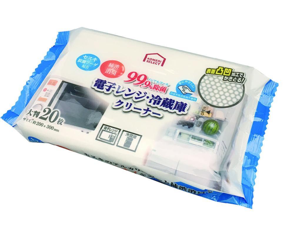 コメリセレクト 電子レンジ・冷蔵庫 クリーナー 20枚