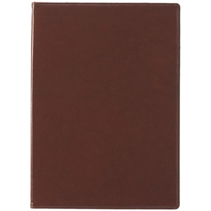 セキセイ ベルポスト クリップファイル A4-E ブラウン