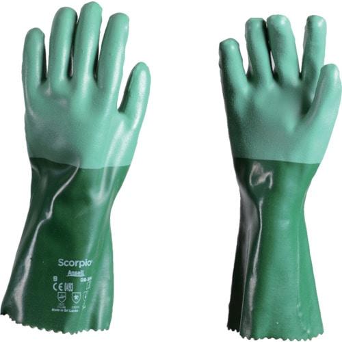 アンセル 耐薬品手袋 スコーピオ 08-354 Lサイズ_