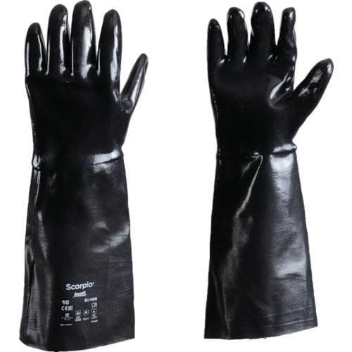 アンセル 耐薬品手袋 スコーピオ 09-928 XLサイズ_