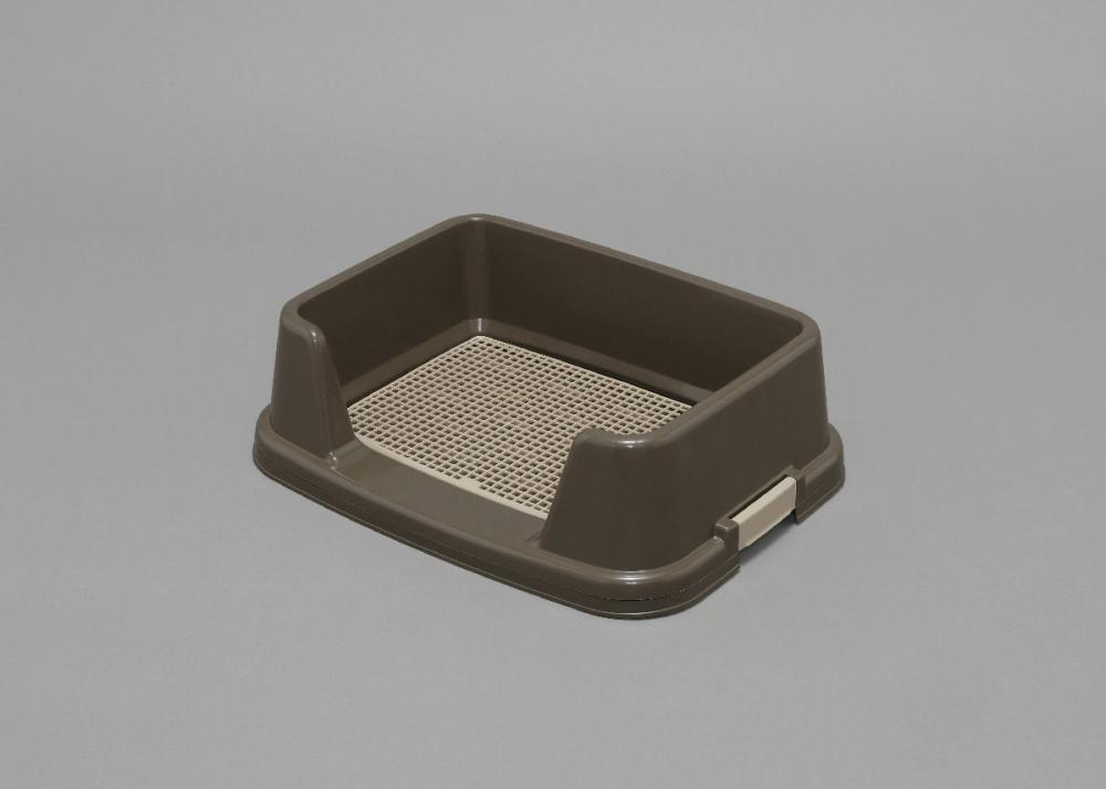 アイリスオーヤマ トレーニング犬トイレ ブラウン TRT-500