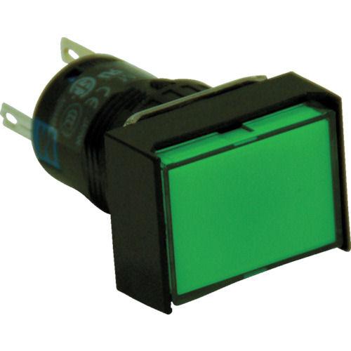 IDEC ファイ16長角形照光押しボタンスイッチ_