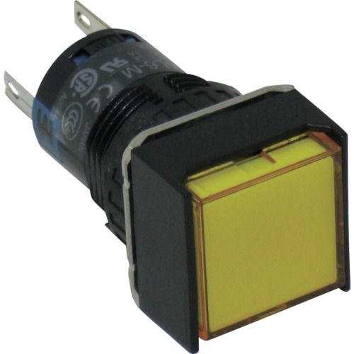 IDEC ファイ16正角形照光押しボタンスイッチ_