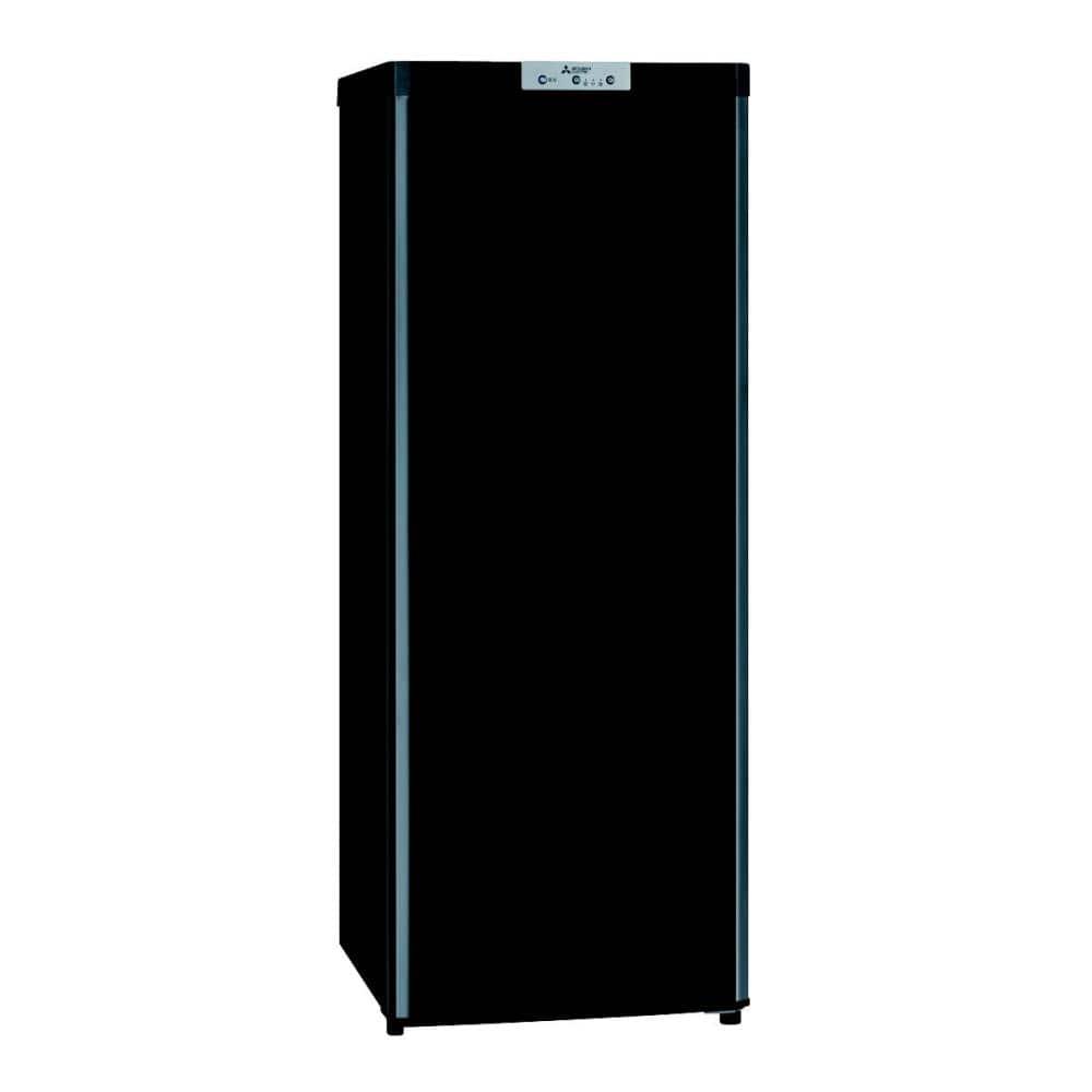 三菱電機 1ドア冷凍庫 144L ブラック MF-U14D-B