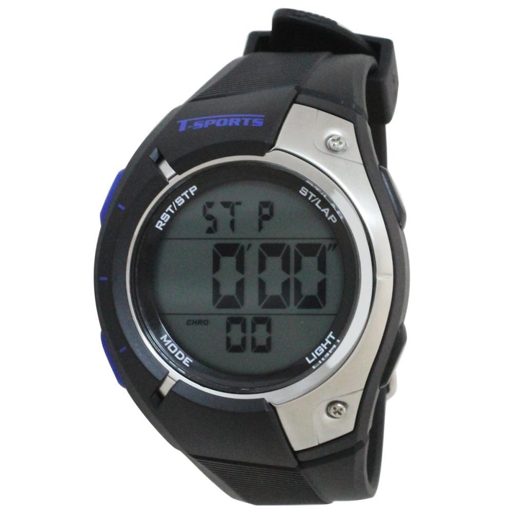 クレファー T-SPORTS デジタル腕時計 ブラック TS-D033-BK