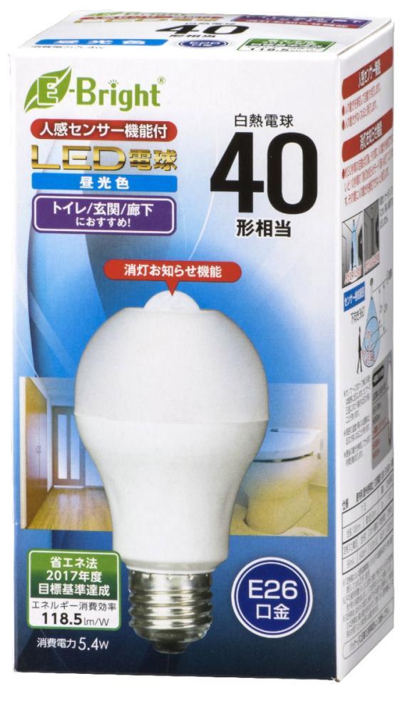 センサーLED電球40W相当型 A型 E26 各種